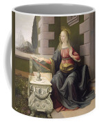 Virgin Mary, From The Annunciation Coffee Mug