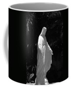 Virgin Mary In Black And White Coffee Mug