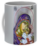 Virgin Of Tenderness Eleusa Coffee Mug