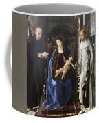 Virgin Of The Knight Of Montesa  Coffee Mug