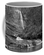 Virgina Falls In The Pool - Black And White Coffee Mug
