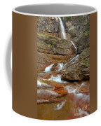 Virginia Fall Glacier Cascades Coffee Mug