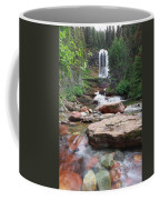 Virginia Falls - Glacier N.p. Coffee Mug