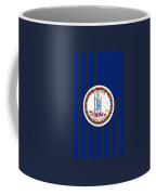 Virginia State Flag Graphic Usa Styling Coffee Mug