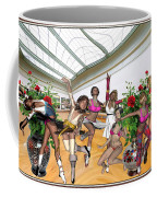Virtual Exhibition - Dance Of Opening The Exhibition Coffee Mug