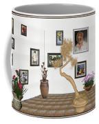 Virtual Exhibition - Statue Of Bonsai 1 Coffee Mug