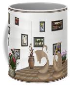 virtual exhibition_Statue of swans 22 Coffee Mug