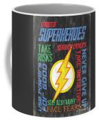 Virtues Of A Superhero 2 Coffee Mug