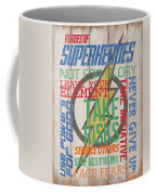 Virtues Of A Superhero Coffee Mug