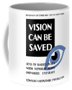 Vision Can Be Saved - Wpa Coffee Mug