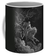 Vision Of Death Coffee Mug by Granger