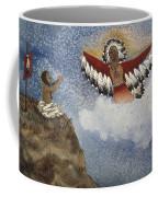 Vision Of The Eagle Spirit Coffee Mug