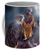 Vision Of The Hawk Coffee Mug