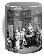 Visit To The Quack Doctor, 1745 Coffee Mug