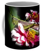 Visiting A Zinnia Coffee Mug