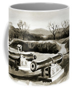 Visitors Welcome Bw Coffee Mug
