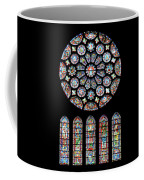 Vitraux - Cathedrale De Chartres - France Coffee Mug