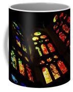 Vivacious Stained Glass Windows Coffee Mug