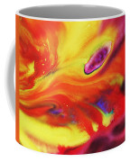 Vivid Abstract Vibrant Sensation Iv Coffee Mug