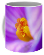 Vivid Crocus Detail Coffee Mug