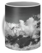 Volcano Chachani In Arequipa Peru Covered By Clouds Coffee Mug