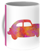 Volkswagom Beetle Art Flames Coffee Mug
