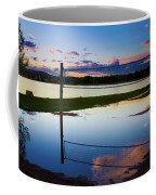Volleyball Sunset Coffee Mug
