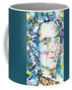 Voltaire - Watercolor Portrait Coffee Mug