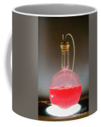 Volumetric Flask With Pink Liquid Chemical Experiment Coffee Mug