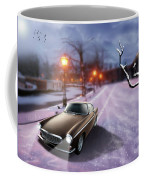 Volvo P1800 Snow Scene Coffee Mug