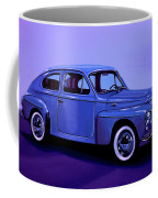 Volvo Pv 544 1958 Mixed Media Coffee Mug