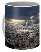 Vue De La Butte Montmartre.roofs Of Paris Coffee Mug