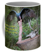 vulture with Skull Coffee Mug