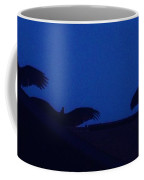 Vultures On A Rooftop Coffee Mug