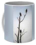 Vultures Perched In A Dead Tree Coffee Mug