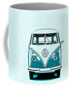 Vw Van Graphic Artwork Coffee Mug