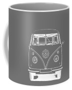 Vw Van Graphic Artwork Tee White Coffee Mug