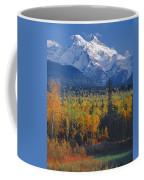 102238-v-w End Of Seven Sisters Mountain  Coffee Mug