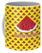 W Is For Watermelon Coffee Mug