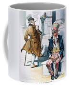 W. Mckinley Cartoon, 1896 Coffee Mug