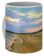 Wades Beach Sundown Study II Coffee Mug
