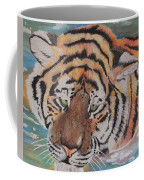 Wading Tiger Coffee Mug