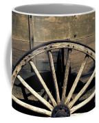 Wagon Wheel - Old West Trail N832 Sepia Coffee Mug