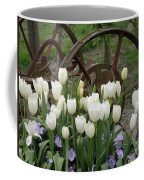 Wagon Wheel Tulips Coffee Mug
