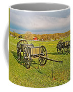 Wagons Used In The Civil War In Gettysburg National Military Park-pennsylvania Coffee Mug