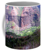 Waiamea Canyon Walls Coffee Mug