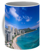 Waikiki And Diamond Head Coffee Mug