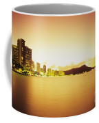 Waikiki At Sunset Coffee Mug