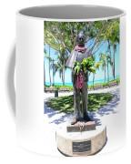 Waikiki Statue - Prince Kuhio Coffee Mug