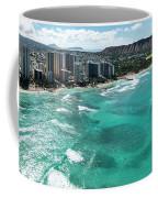 Waikiki To Diamond Head Coffee Mug
